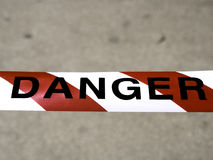 Danger tape Royalty Free Stock Photography