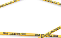 Danger Tape Lines Royalty Free Stock Photos