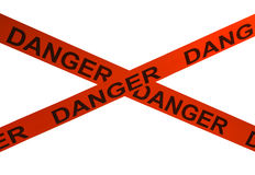 Danger Tape Stock Image