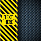 Danger tech abstract background concept. Vector Stock Images