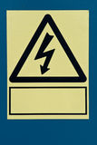 Danger ! Tension ! Image stock