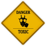 Danger toxic Stock Image