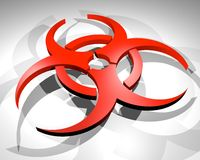 Danger virus Royalty Free Stock Image