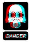 Danger visual Royalty Free Stock Photos