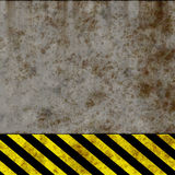 Danger wall Royalty Free Stock Image