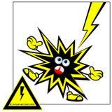 Danger warning. Royalty Free Stock Photography