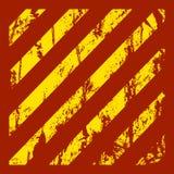 Danger warning grunge red background Stock Photo