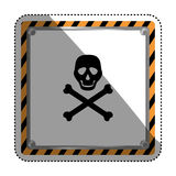 Danger and warning sign Stock Photos