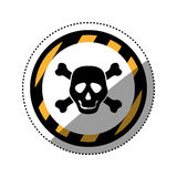 Danger and warning sign Royalty Free Stock Photography