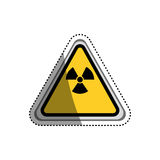 Danger and warning sign Royalty Free Stock Image