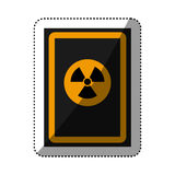 Danger and warning sign Stock Image