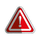 Danger and warning sign Stock Photo