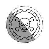 Danger and warning sign. Icon  illustration graphic design Royalty Free Stock Photo