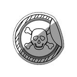 Danger and warning sign. Icon  illustration graphic design Royalty Free Stock Photos
