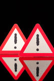 Danger warning signs Royalty Free Stock Photo