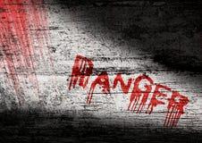 Danger Warning Royalty Free Stock Image