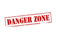Danger zone Stock Photo