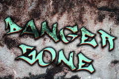 Danger zone Stock Photography