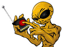 Dangerous Alien Stock Image