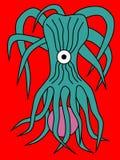 Dangerous alien organism Stock Images