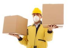 Dangerous box Stock Image