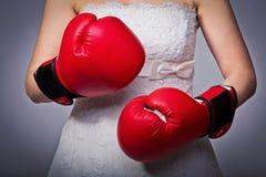 Dangerous bride Royalty Free Stock Images