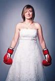 Dangerous bride Stock Photos