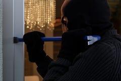 Dangerous burglar Royalty Free Stock Photography