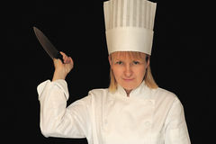 Dangerous Chef Stock Photo