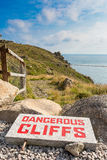 Dangerous Cliffs Stock Image