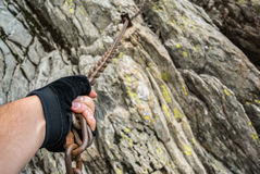 Dangerous Climbing Stock Photos