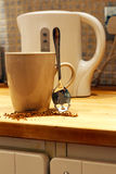 Dangerous coffee - Think before you drink Stock Photography