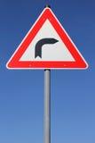 Dangerous curve Stock Photo
