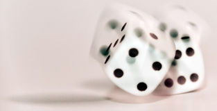 Dangerous Dice Royalty Free Stock Photos