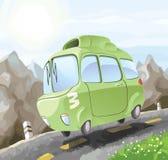 Dangerous driving. Royalty Free Stock Image