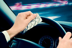 Dangerous Driving Royalty Free Stock Image