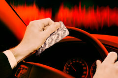 Dangerous Driving Royalty Free Stock Photos