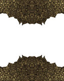 Dangerous frame with sharp edges. Template for design. copy space for ad brochure or announcement invitation, abstract background. Dangerous frame with sharp Vector Illustration