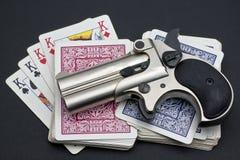 Dangerous game Royalty Free Stock Image