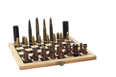 Dangerous game, war game Stock Photo