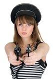 Dangerous girl Royalty Free Stock Photos