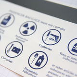 Dangerous goods Stock Photo