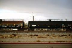 Dangerous goods transport Mojave city Stock Images