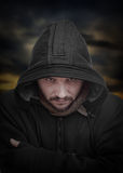 Dangerous guy Royalty Free Stock Photo
