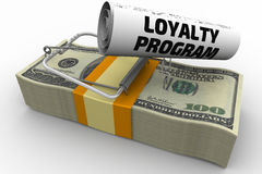 Dangerous loyalty program Royalty Free Stock Image