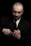 Dangerous man Royalty Free Stock Photography