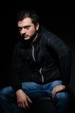 Dangerous man Royalty Free Stock Image