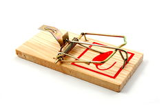 Dangerous mouse trap Royalty Free Stock Photos