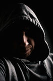 Dangerous and mysterious man Royalty Free Stock Photo