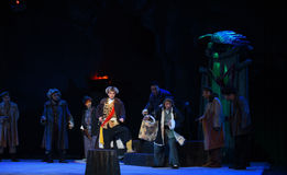 """Dangerous places-Peking Opera """"Taking Tiger Montain By Strategy"""" Stock Photo"""